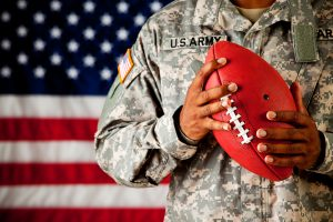 football for a cause and the Wounded Warrior Project