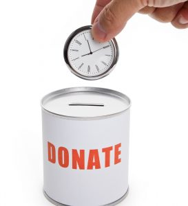 best places to donate time