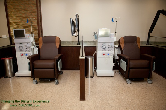 Acquired Dialysis Chairs for Patients Waiting for Kidney Dialysis for the American Kidney Fund