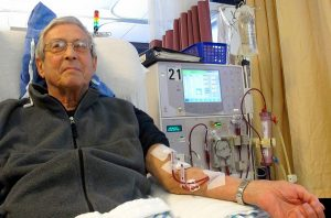 Patient Receiving Dialysis under the American Kidney Fund