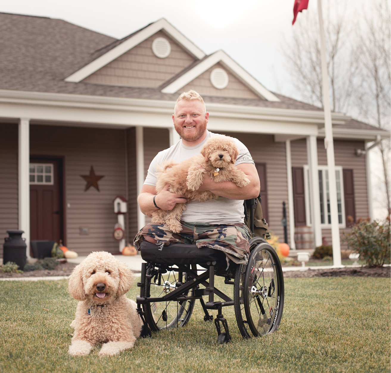 disabled veteran with pets