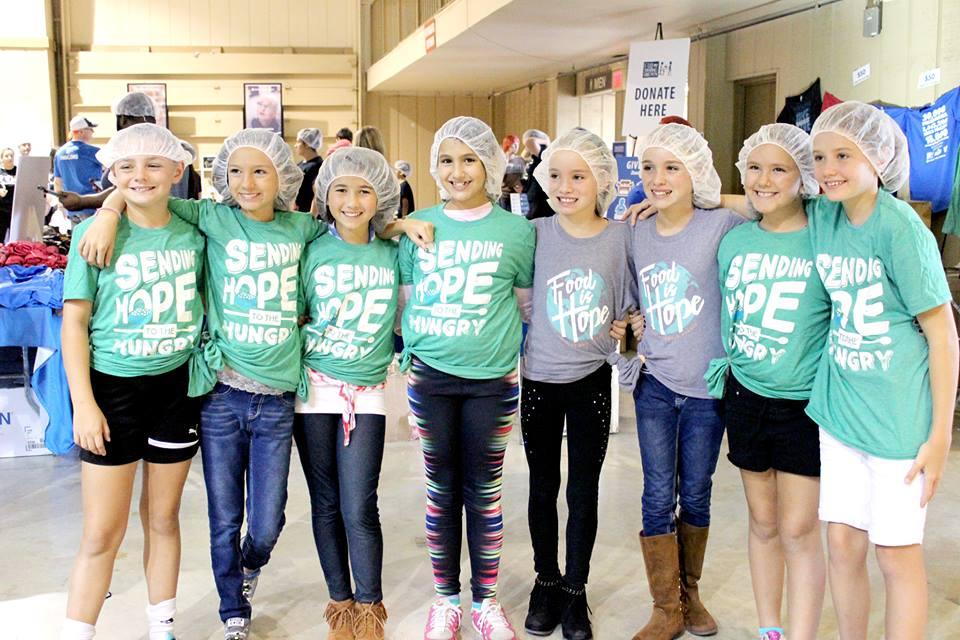 kids supporting charities