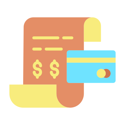 credit card and billing icon